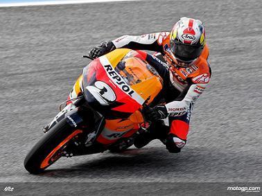 Dani Pedrosa, el más rápido en Estoril