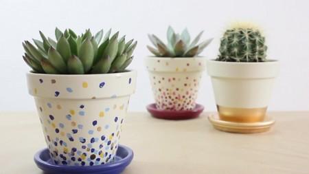 DIY para decorar macetas