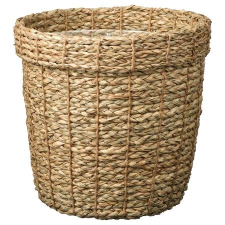 Vallmofroen Plant Pot Seagrass 0817577 Pe774253 S5