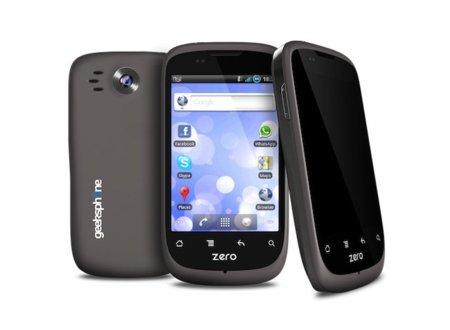 GeeksPhone Zero, características técnicas