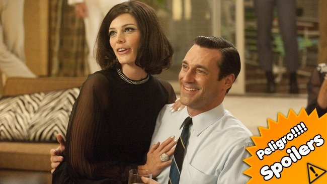 Don Draper y Megan, Mad Men