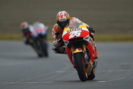 Dani Pedrosa se reivindica con una gran remontada en el Gran Premio de Japón