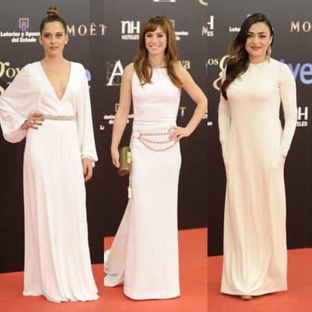 El blanco le hizo la competencia al negro en los Premios Goya 2013
