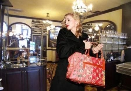 Madonna en la nueva campaña de Louis Vuitton en Los Angeles