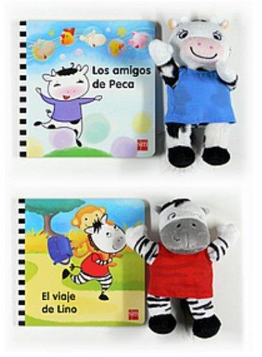 Nuevos libros de Peca y Lino con un muñeco de regalo