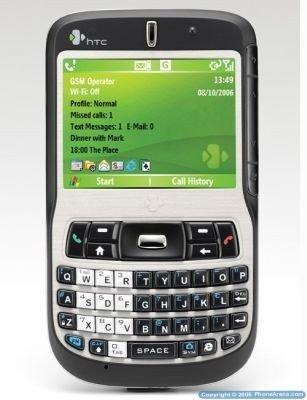 HTC S620, con barra de desplazamiento lateral