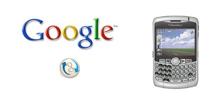 Actualizado Google Sync para Blackberry
