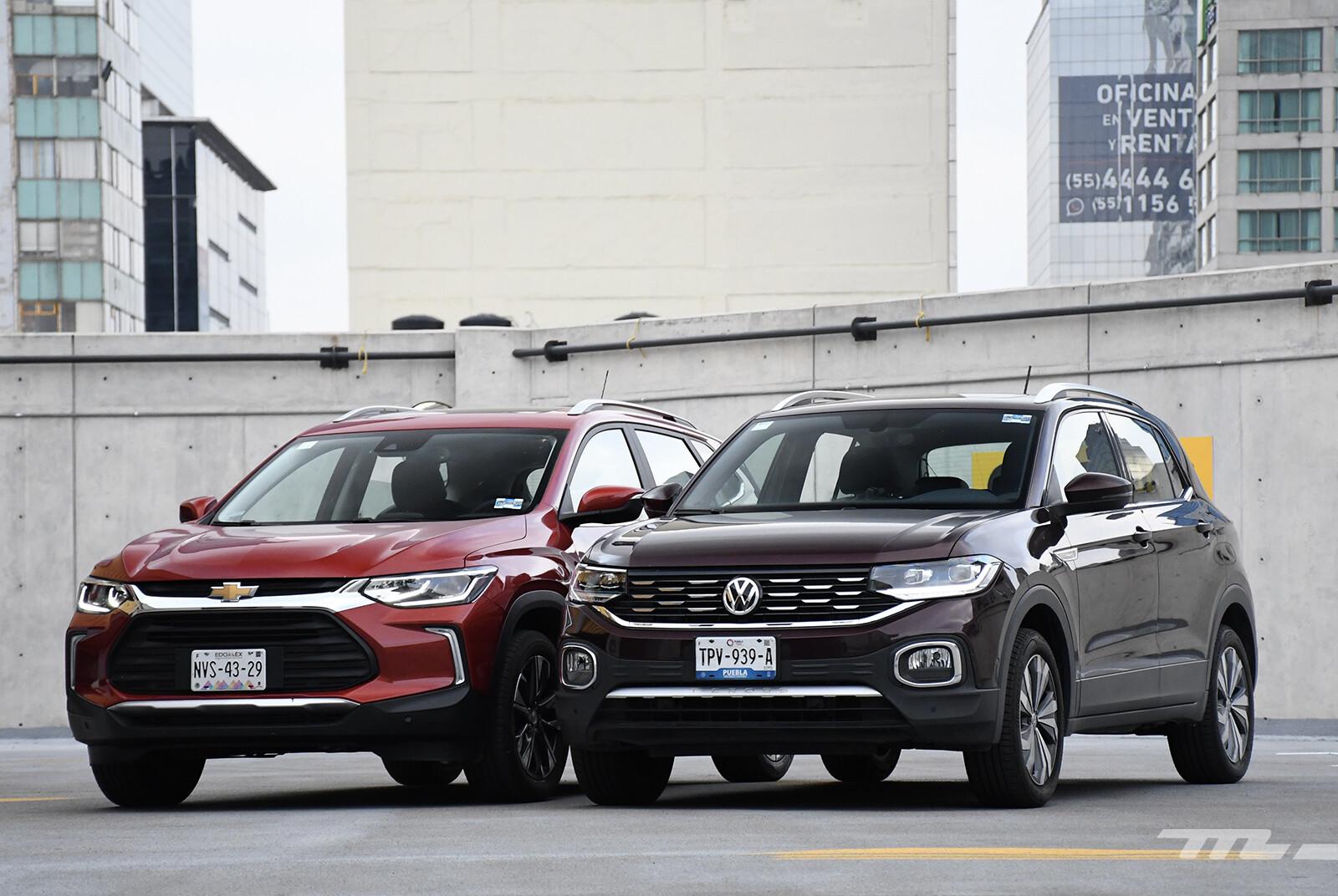 Foto de Chevrolet Tracker vs. Volkswagen T-Cross (comparativa) (11/29)