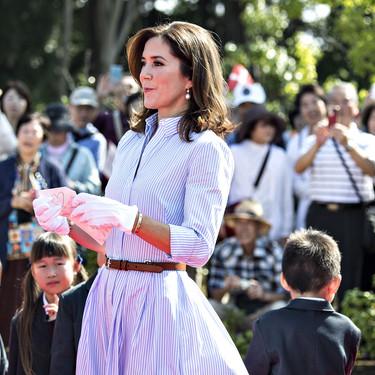 Mary de Dinamarca conquista Japón con su estilazo
