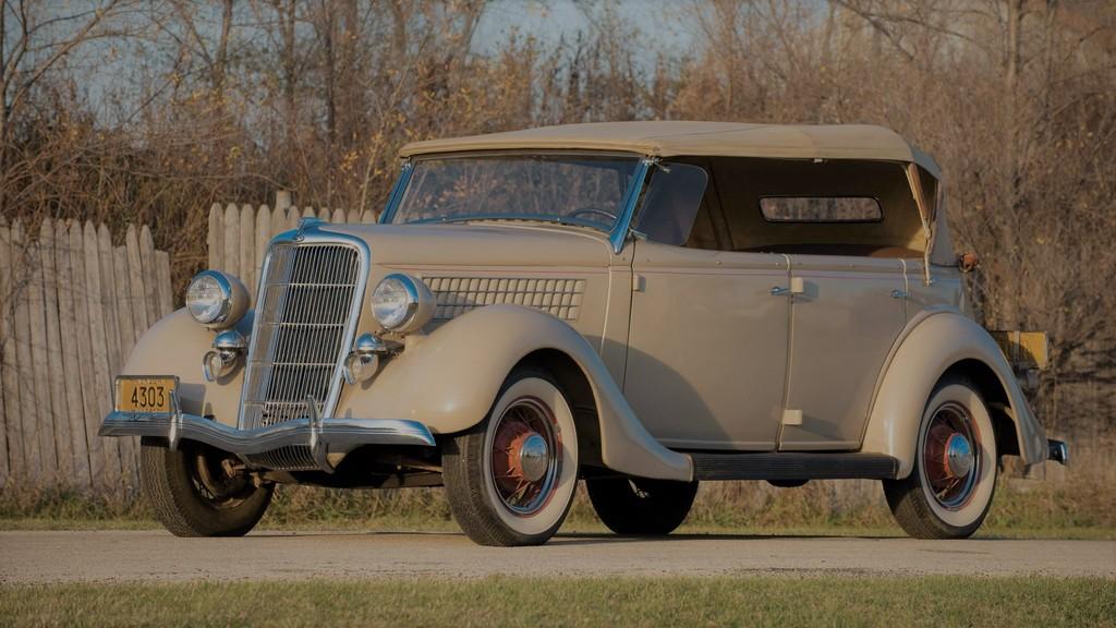 Ford Model 48 Deluxe Phaeton 1935