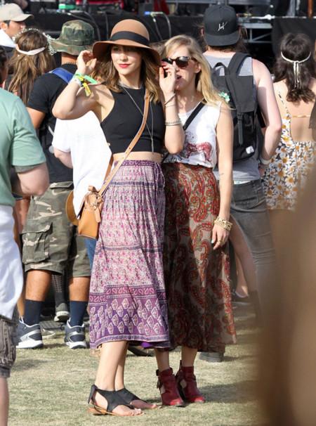 Katharine McPhee Coachella 2014 mejor vestidas