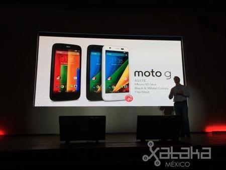 Moto G con LTE y expansión vía microSD y edición Ferrari en México