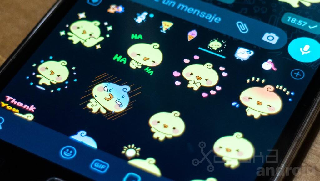 Los stickers animados de WhatsApp ya pueden visualizarse en la última beta