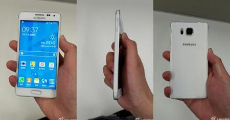 Aparecen más imágenes del Samsung Galaxy Alpha, ¿lanzamiento inminente?