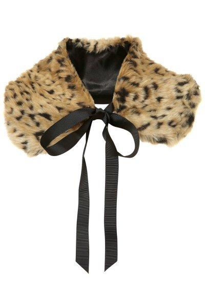 cuello leopardo topshop