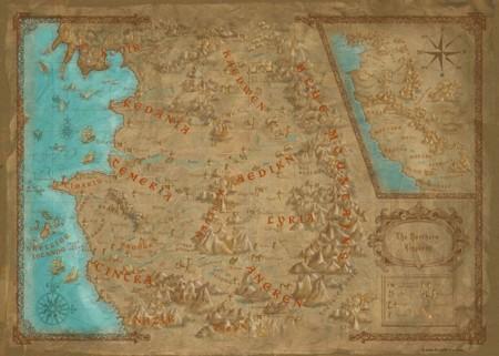 Mapa The Witcher 2.Echale Un Vistazo Al Mapa De The Witcher 3 Wild Hunt Y Ve