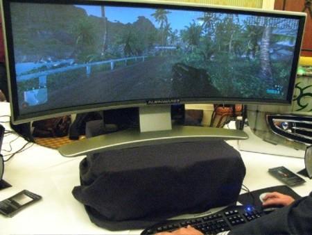 Monitor curvo de Alienware