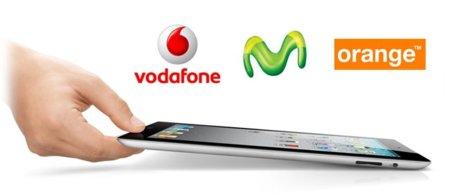 Movistar, Vodafone y Orange ya nos advierten que tendrán tarifas para el iPad 2