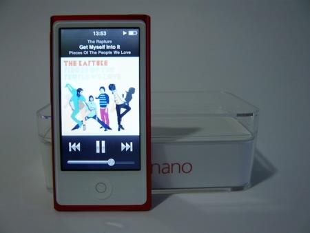 iPod nano 2012 interfaz música