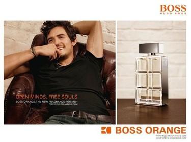 Boss Orange Man, el perfume preferido de Orlando Bloom. Lo hemos probado...