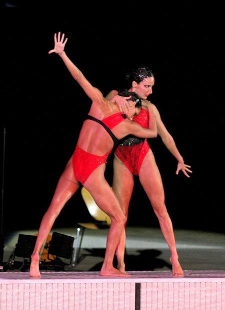 Ona Carbonell y Andrea Fuentes, plata olímpica con Dolores Cortés