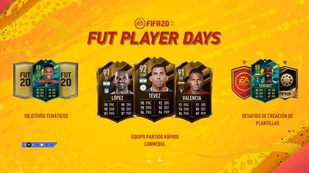 Guía FIFA 20. CONMEBOL Libertadores 1: todas las cartas de FUT Player Days y cómo resolver los desafíos temáticos de FUT 20