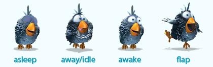 """""""For the Birds"""": Iconos para Adium del corto de Pixar"""