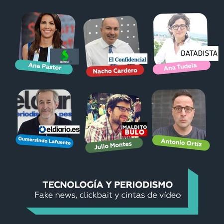 Sigue en directo nuestras mesas redondas: Fake news y clickbait, ¿empeora la tecnología la democracia? y más