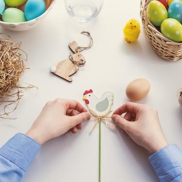 La Pascua se acerca. Y lo tenemos todo listo para decorar la casa