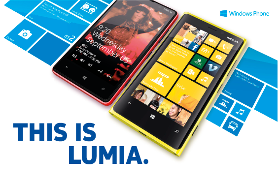 This is lumia con Windows Phone8 8