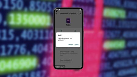 Cómo desinstalar la app falsa de FedEx si has caído en la estafa del SMS, paso a paso