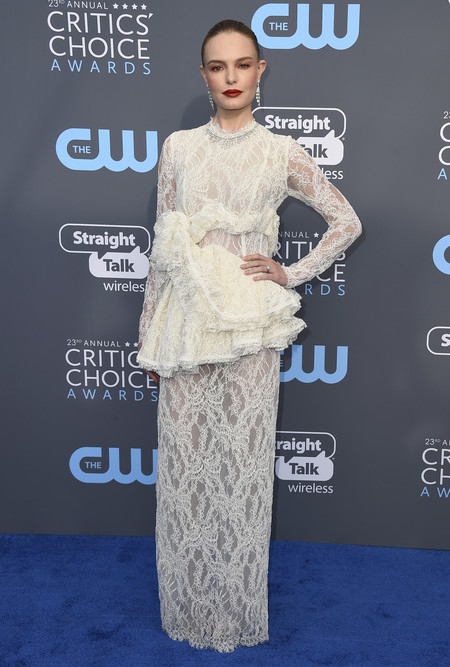 Alfombra Roja Critics Choice Awards 2018 Kate Bosworth Brock Collection