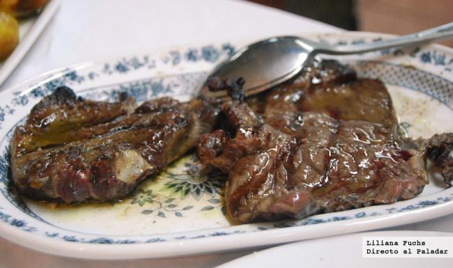 Restaurante O Forno. Carne