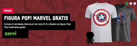 Oferta Flash: 2 camisetas Marvel por 24 euros y, de regalo, una figura Pop! Vinyl