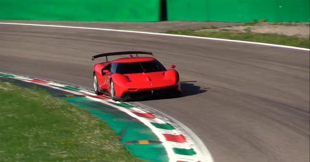 ¡Música para los oídos! El exclusivo Ferrari P80/C cazado en vídeo haciendo rugir su V8 de más de 700 CV