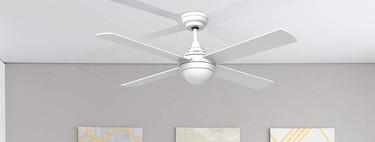 Este verano duerme a pierna suelta: Estos son los ventiladores de techo más valorados por los usuarios en Amazon