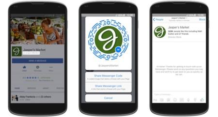 Nuevas funciones de Facebook Messenger