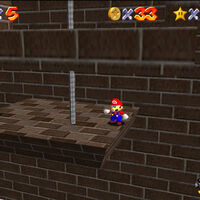 Super Mario 64: cómo conseguir la estrella Shoot into the Wild Blue de Whomp's Fortress
