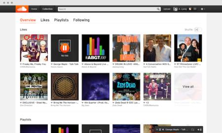 Collection, así es como SoundCloud quiere ayudarnos a visualizar sus contenidos