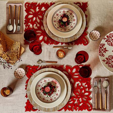 Nueve complementos para conseguir una espectacular mesa for Servilletas papel zara home