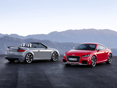 Con 400 CV y más rápido que el 718 Cayman S. Así es el Audi TT RS