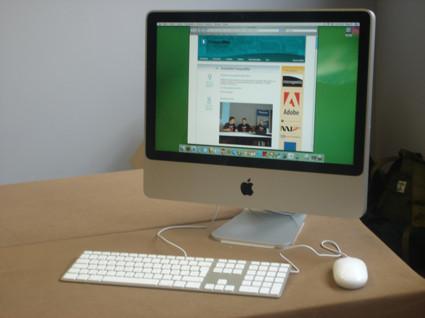 """Fotografías del nuevo iMac 20"""" en la CampusMac 2007"""
