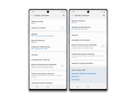 Samsung Galaxy Note 10 Plus Ajustes Audio 01