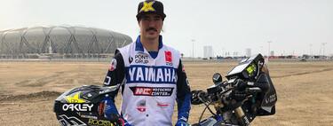 """""""El Dakar debe ser aventura, para correr está la Fórmula 1"""": Hablamos con Javi Vega tras acabar 47º en motos, sin asistencia y con el esternón roto"""