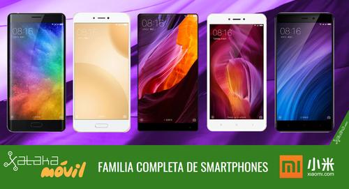 Xiaomi Mi 5c y Redmi 4X, así encajan dentro del catálogo completo de smartphones Xiaomi en 2017
