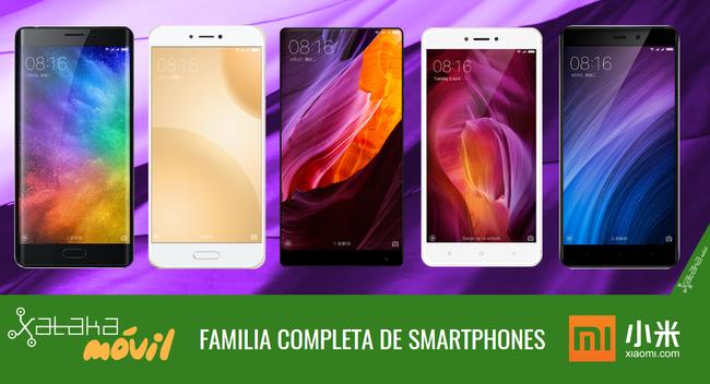 Catalogo Completo Smartphones Xiaomi™ En 2017