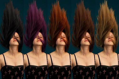 Cambia el color del cabello de forma natural con esta técnica de dos capas en Photoshop