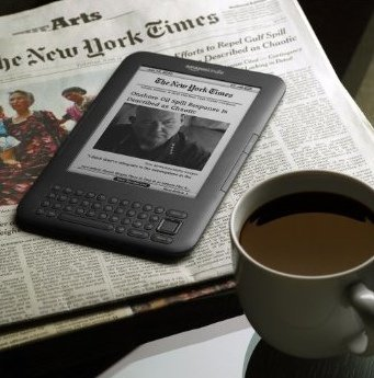 El nuevo Amazon Kindle 3 esconde un micrófono