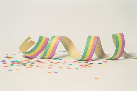 Pink Green And Yellow Ribbon Illustration 796605