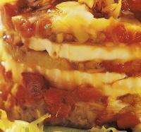 Tartar de escalibada y queso de cabra